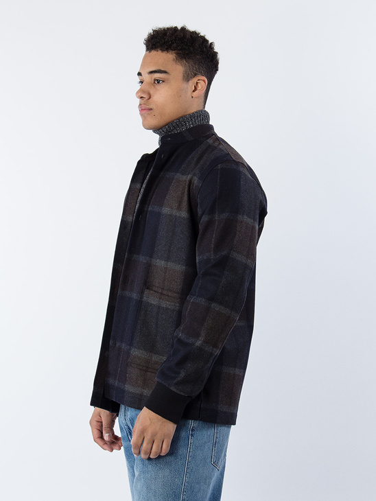 M. Lavy Check Overshirt