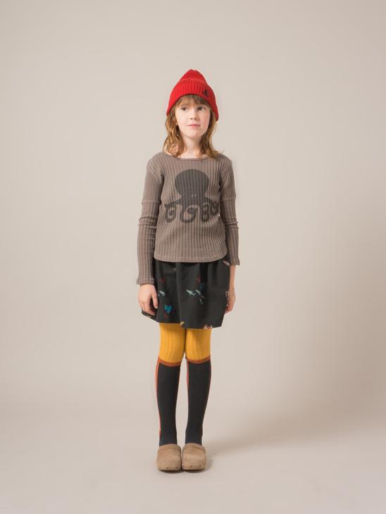 Deep Sea Flared Skirt