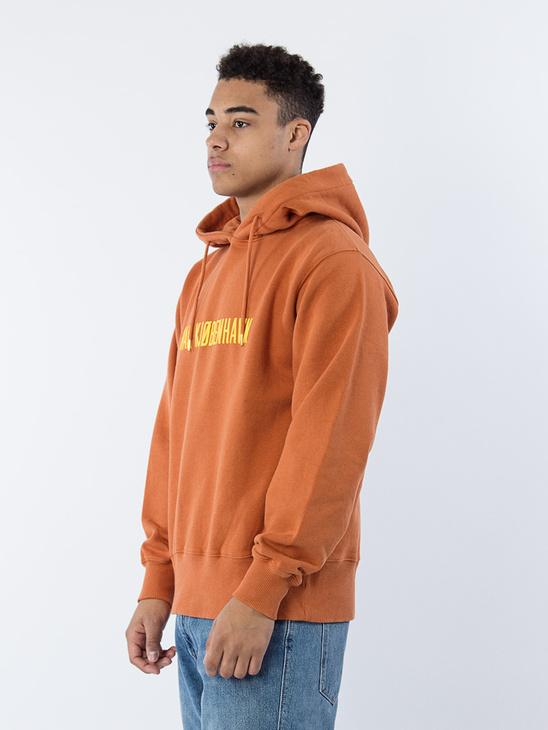 Bulky Hoodie Logo Rusty Orange