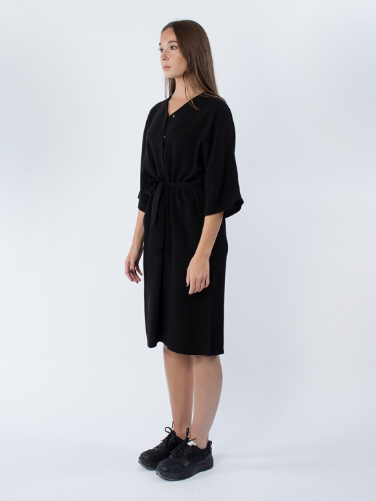 Klautia Dress Black