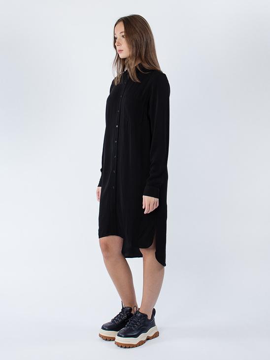 Brooklyn Shirt Solid Black