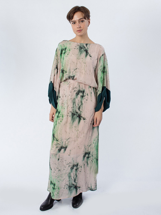 APLACE Julie Hope Print Dress - Berggren Studio