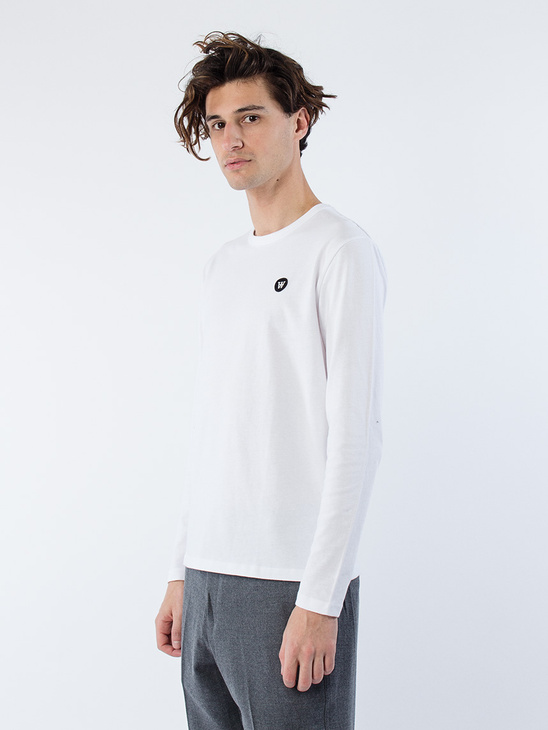 Mel Long Sleeve Bright White