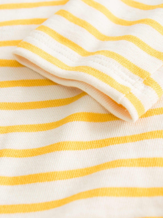 Kim Kids L/S Yellow Stripes