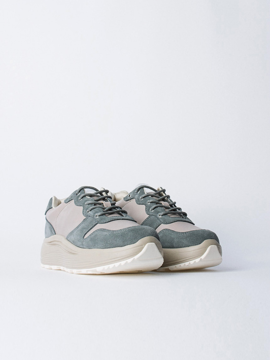 Jet Combo Suede Sage W