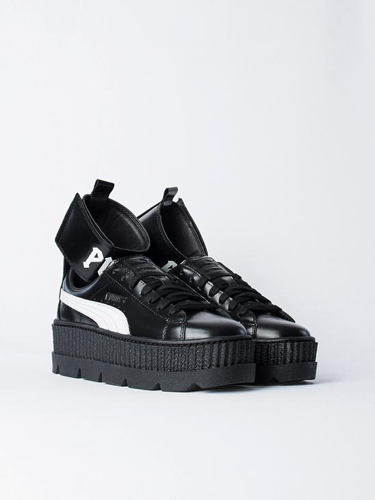 Ankle Strap Sneaker Black