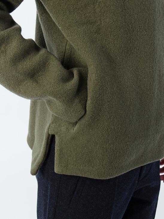 APLACE M. Boiled Wool Hoodie - Filippa K