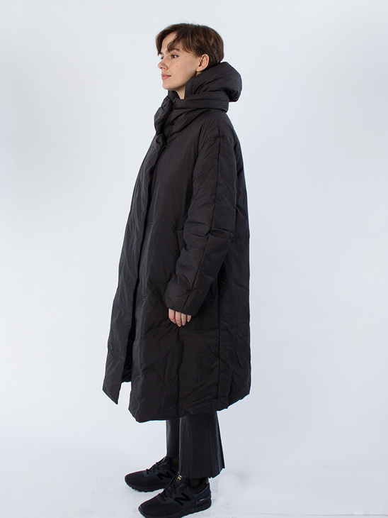 Katja Coat Black