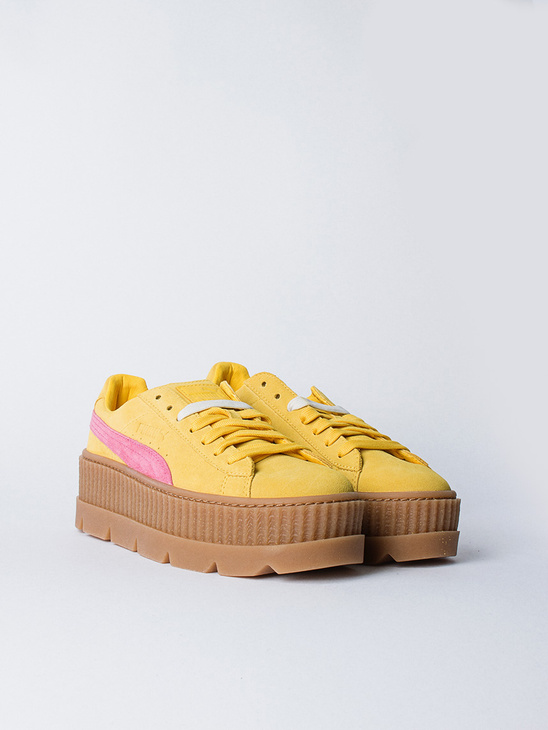 Cleated Creepersuede Lemon