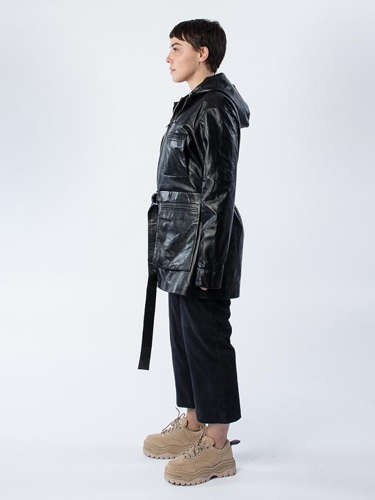 Shi Hood Jacket Black