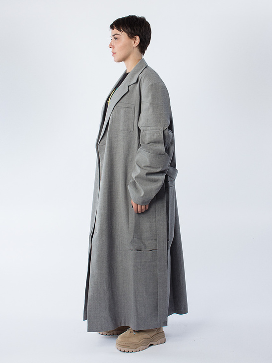 Hilla Wool Coat
