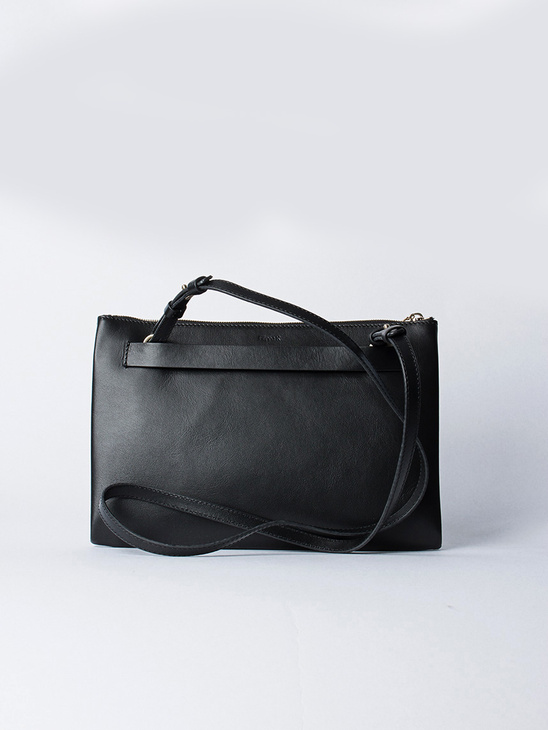 Ellie Leather Shoulder Bag