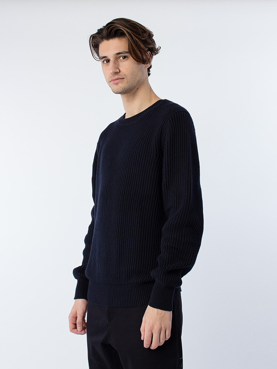 M. Ribbed Pullover