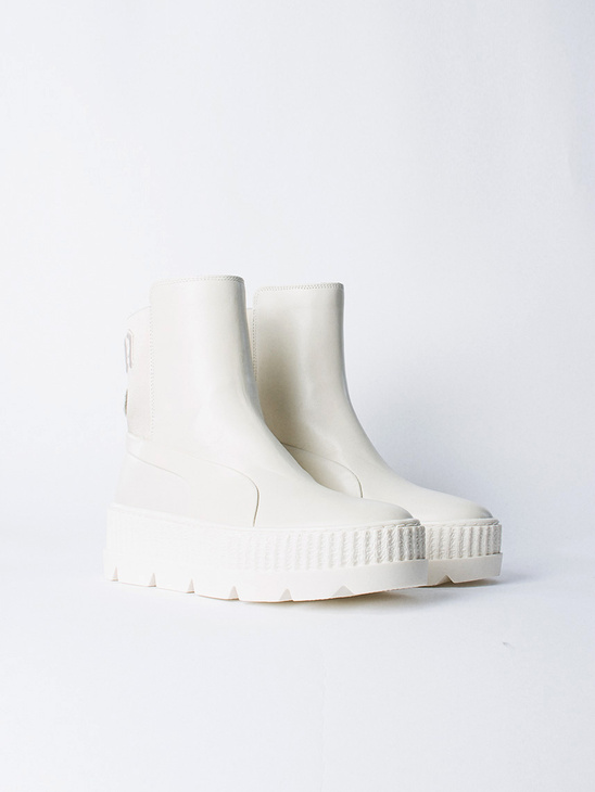 Chelsea Sneaker Boot White