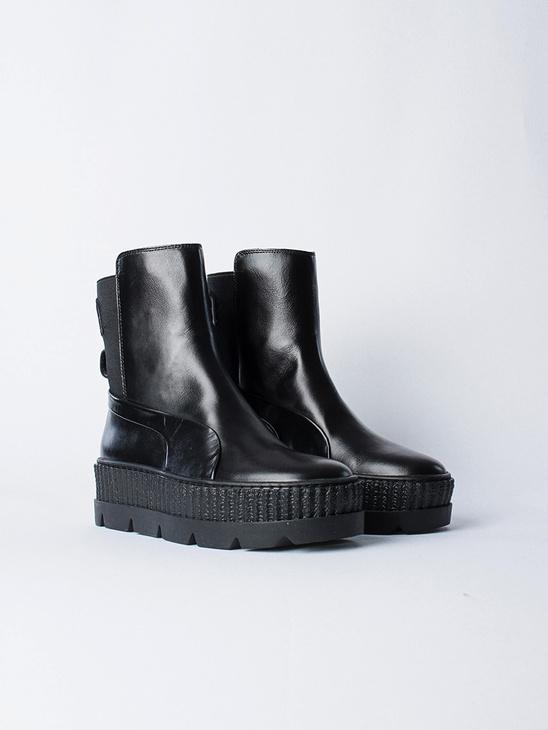 Chelsea Sneaker Boot Black
