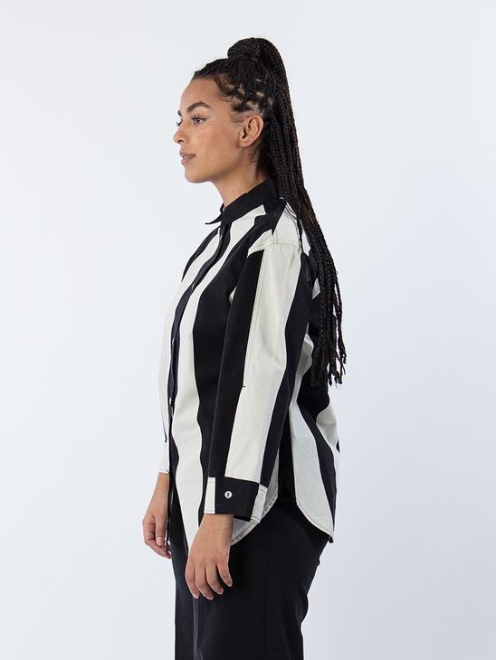 Helvira Shirt Black/ White