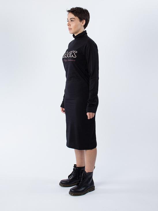 Print Polo LS Dress
